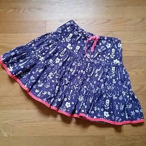 Size 5/6 girl Mini Boden skirt